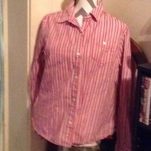 GAP button up blouse L